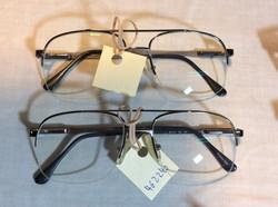 Metal rimmed glasses