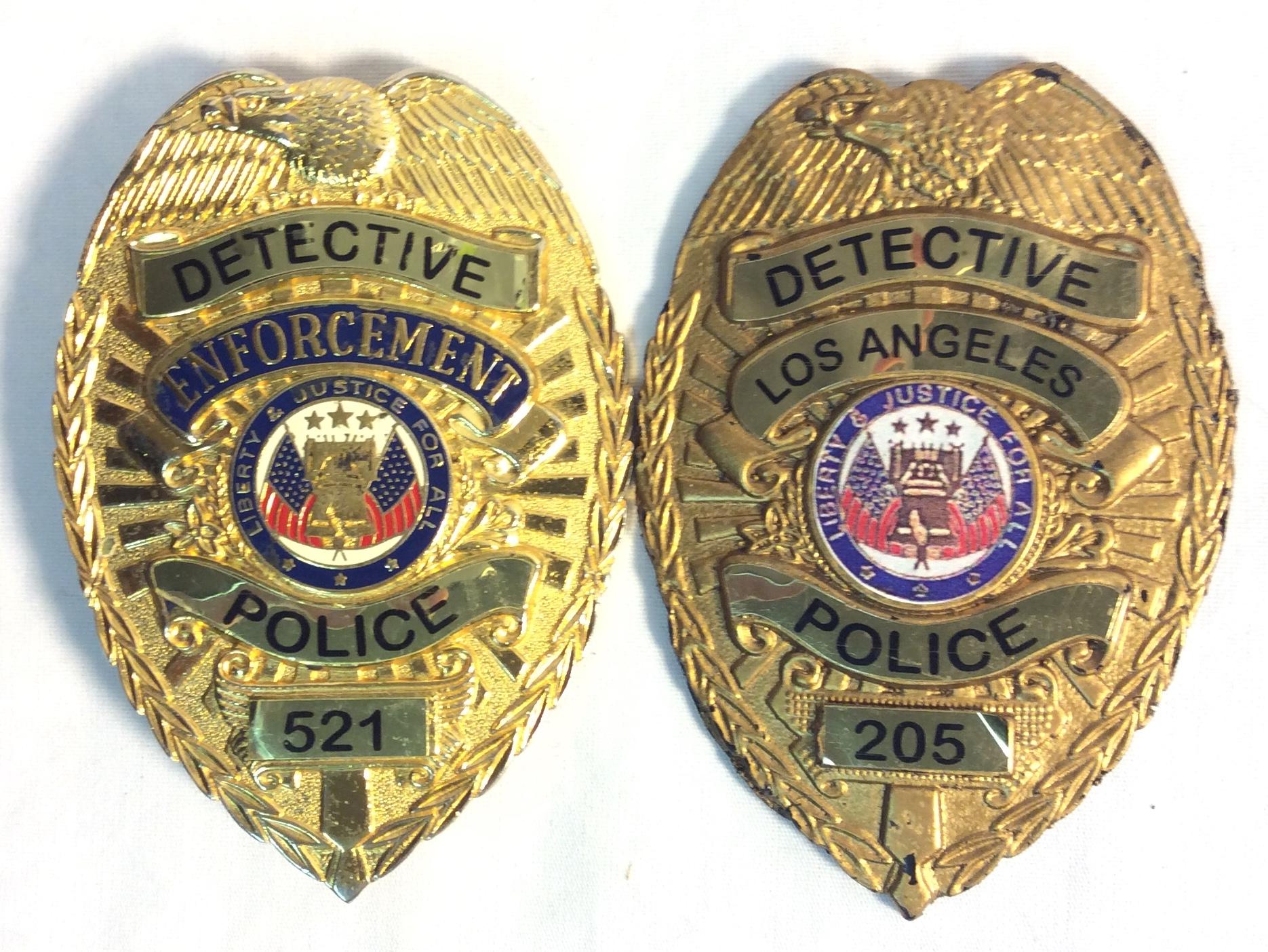 Detective Badges