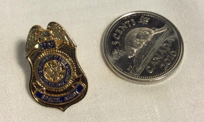 USA Treasury Agent Pin