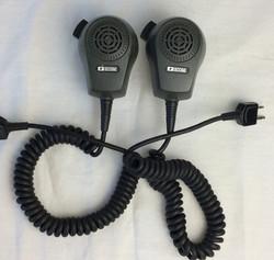 ICOM round hand radios