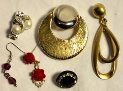 Assorted single earrings