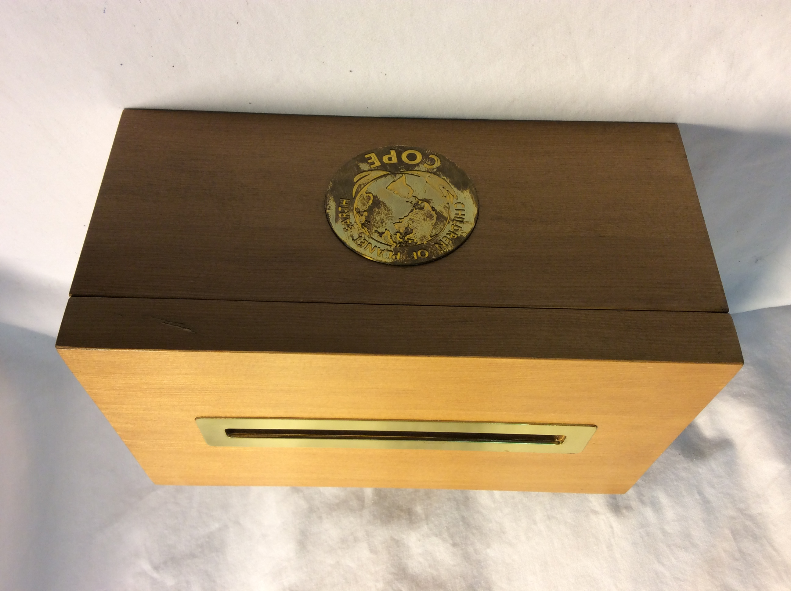 Wooden Ballot Box x2