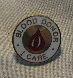 Blood Donor Pin