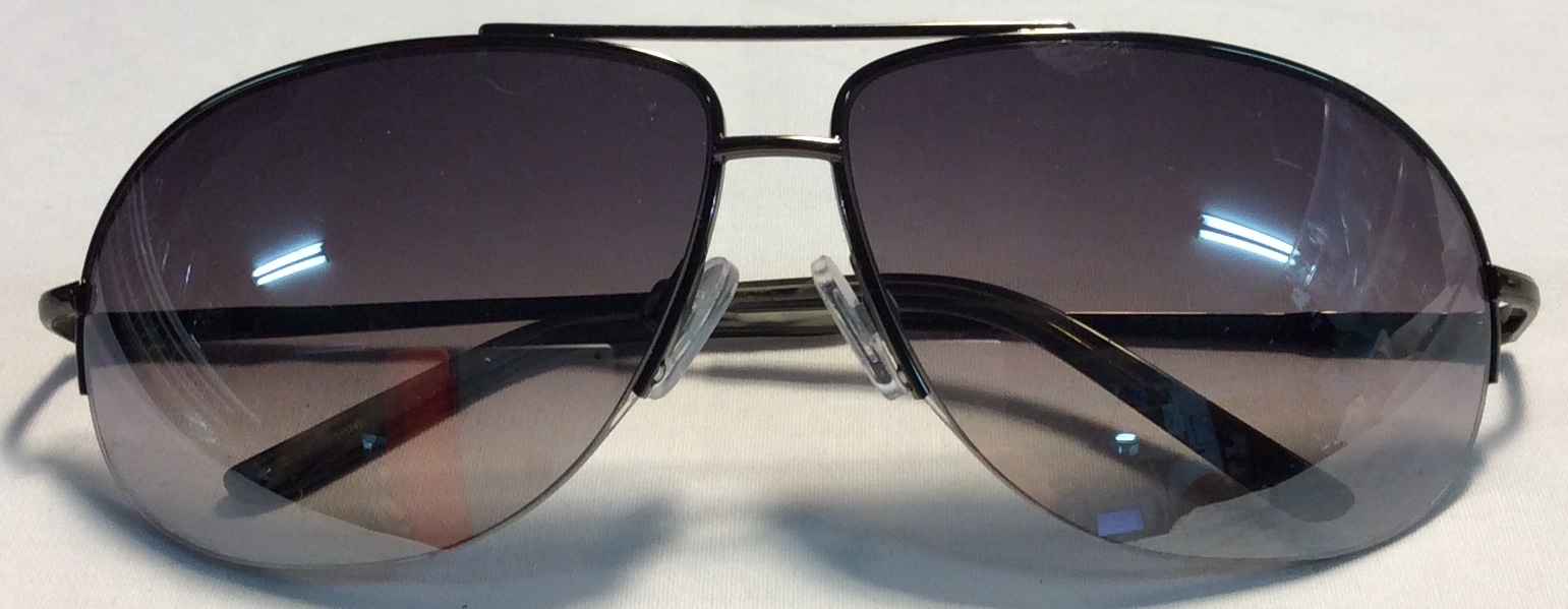 Perry Ellis Charcoal metal frames