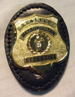 Seattle Metropolitan Police Badge
