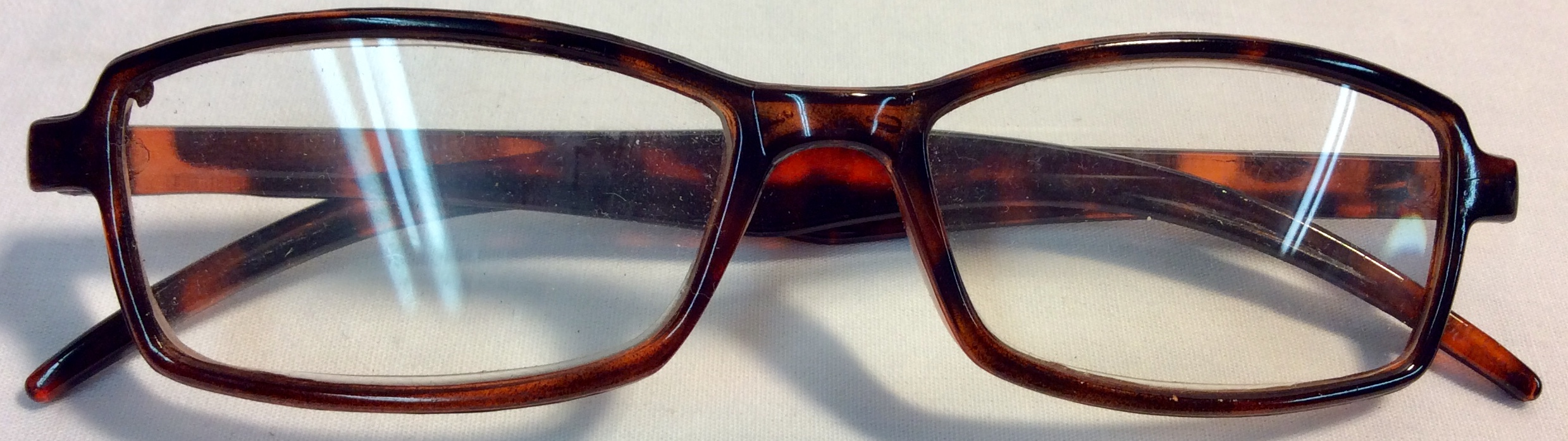 Small glasses with turtle frame