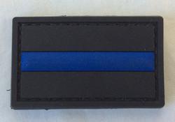 Blue stripe dog sized patch