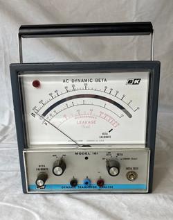 Vintage Voltmeter, AC Dynamic Beta