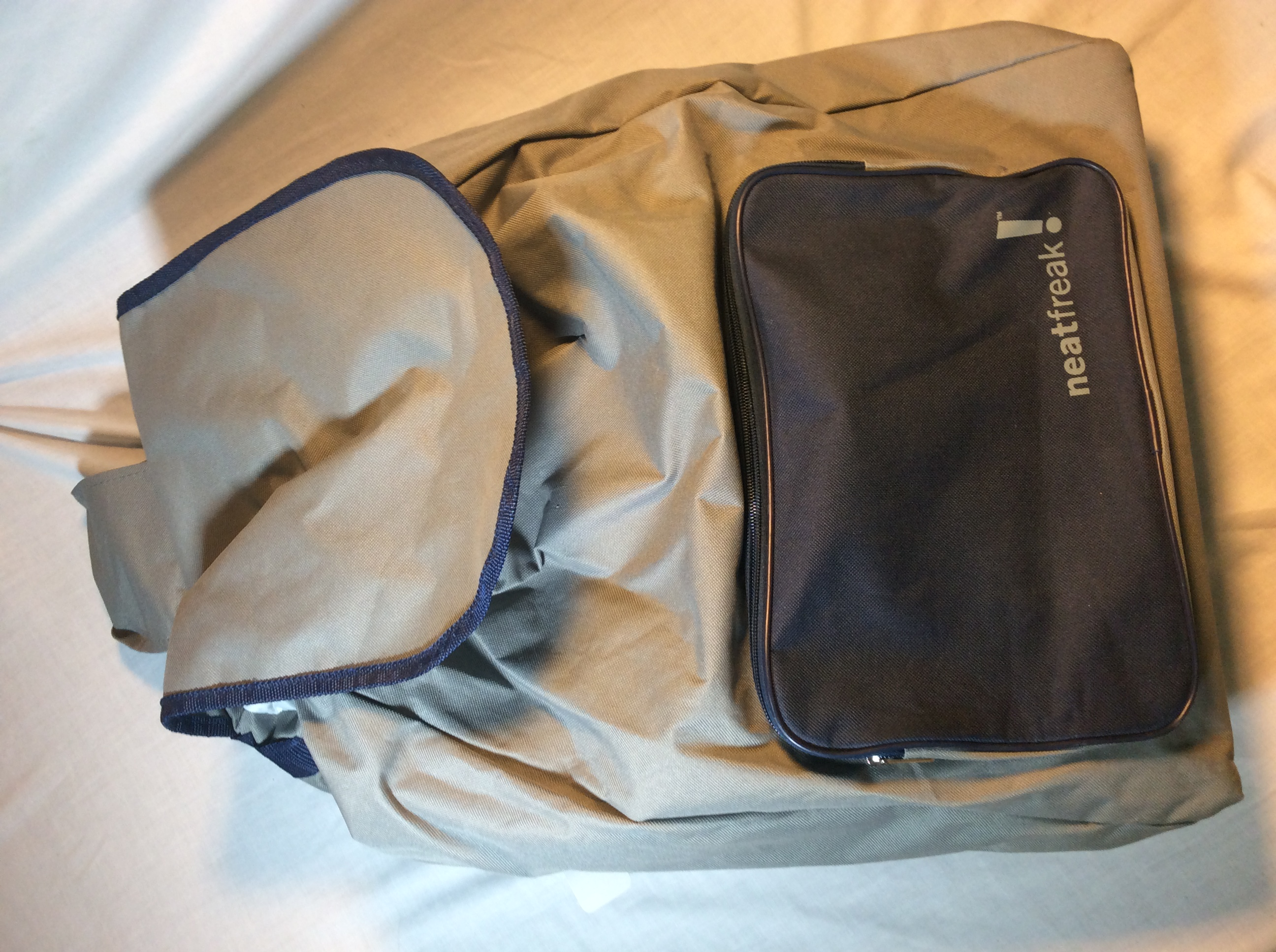 Large Grey Shoulder Bag