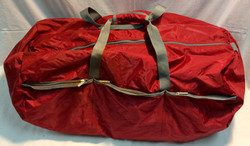 Amazonbasics Red Nylon duffel bag