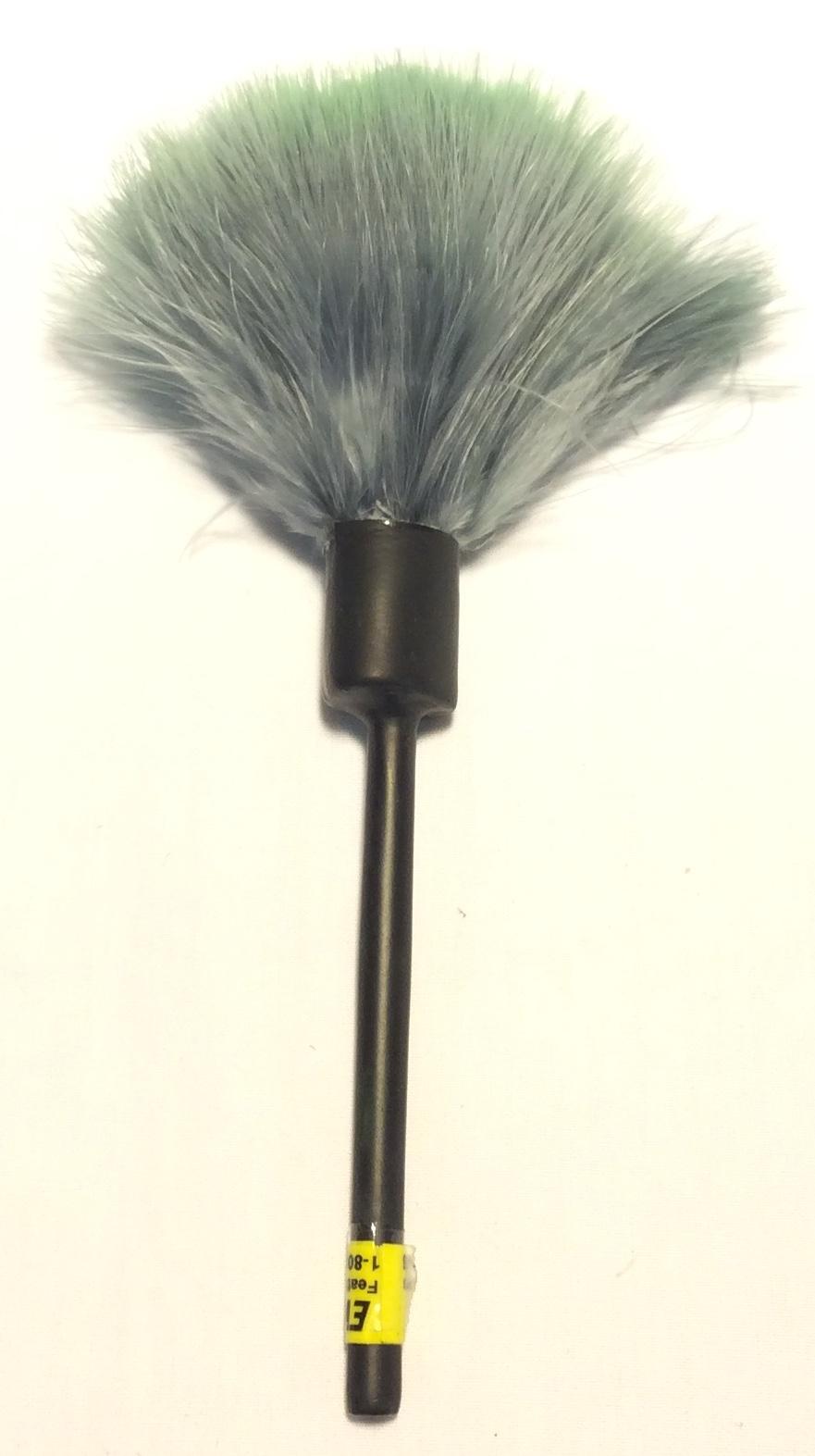 Evident Long black plastic handled