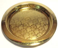 Home Sense Gold metal paisley