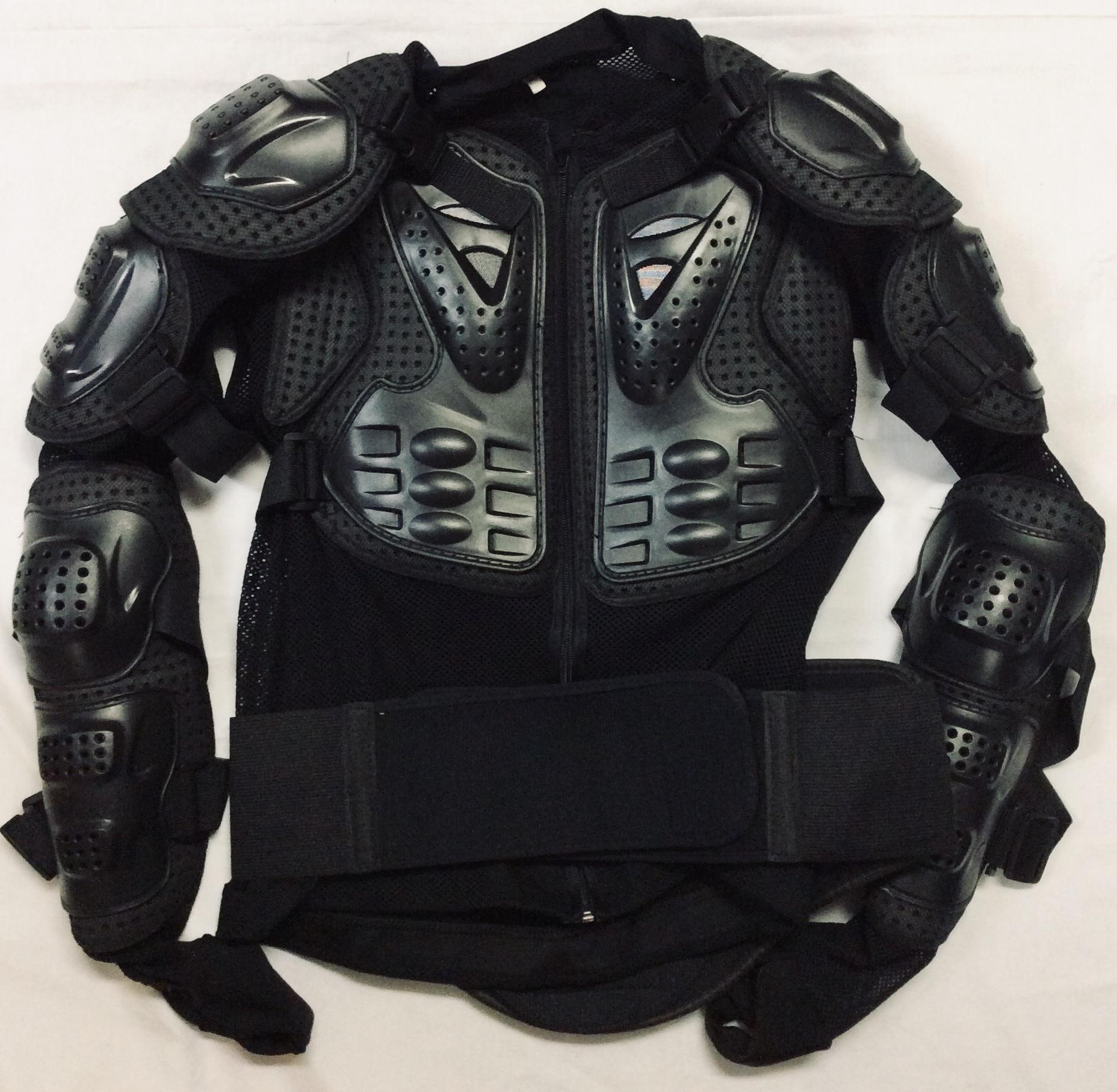 Black Body Armour; mesh suit