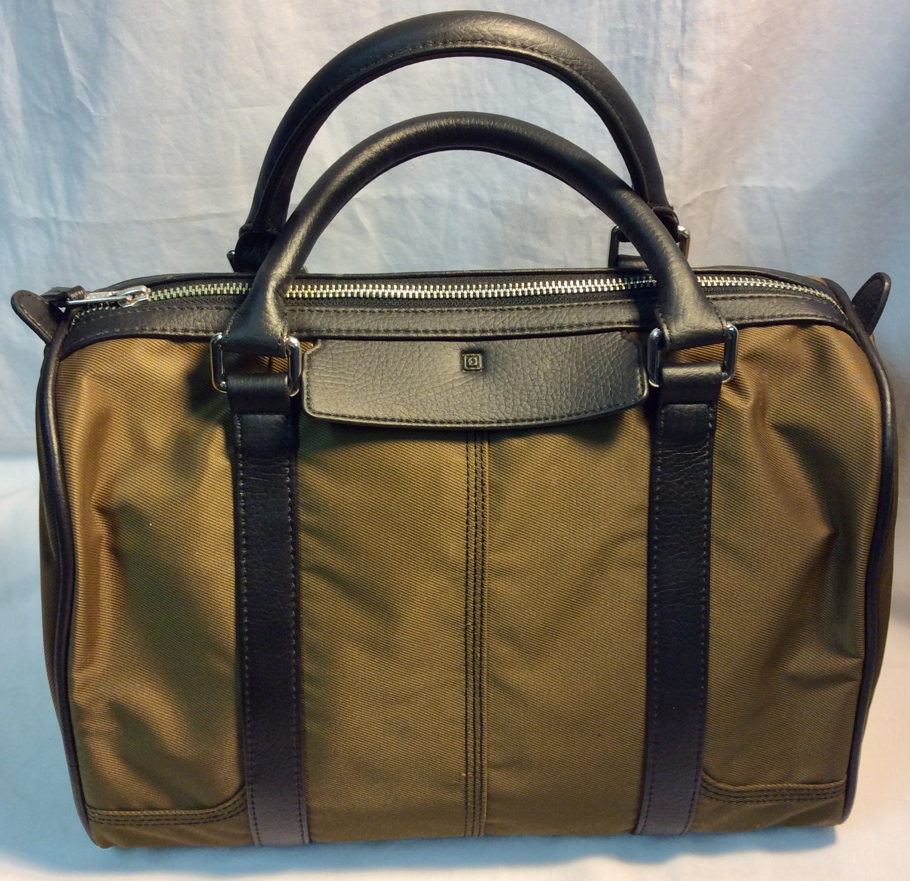 5.11 Brown nylon with black leather