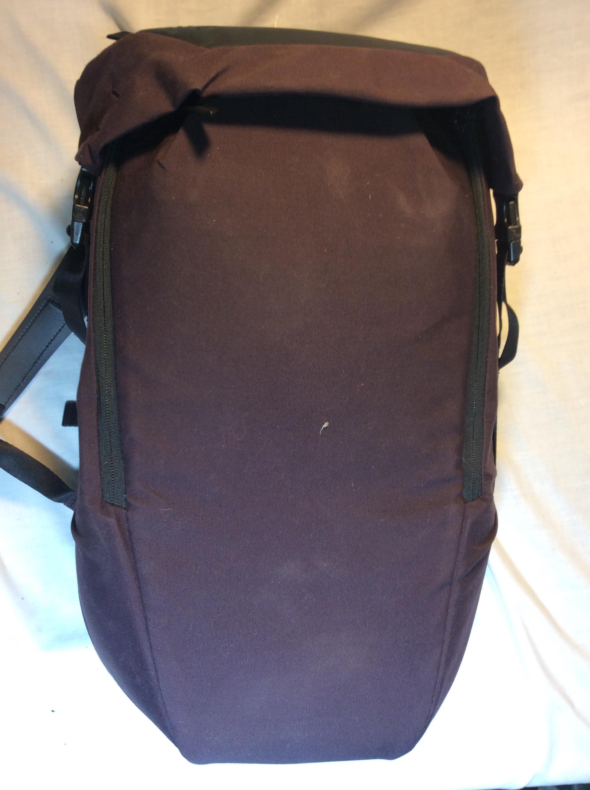 RYU purple backpack