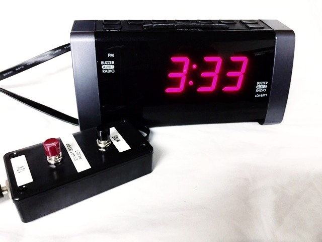 Rigged Alarm Clock