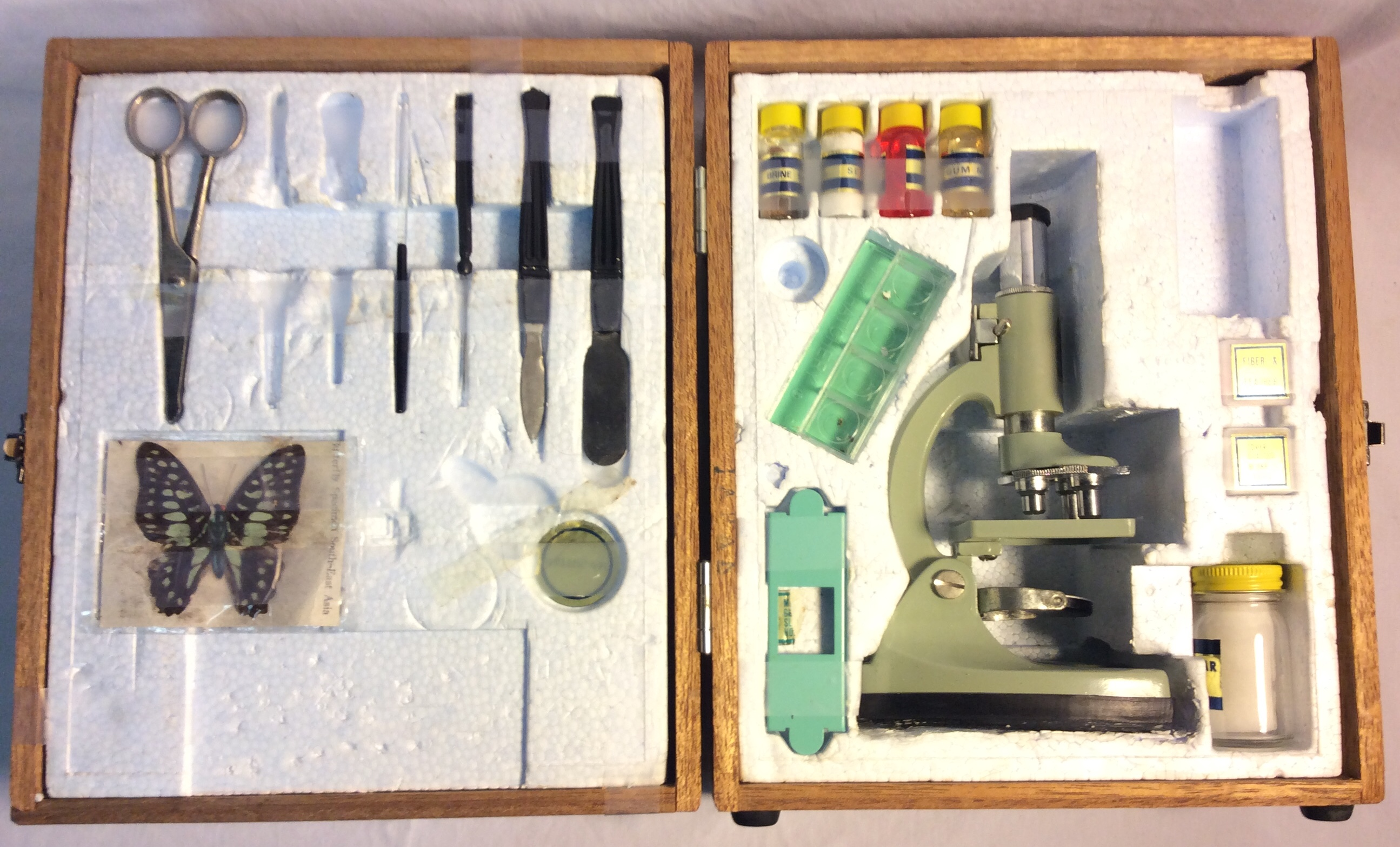 Tasco Deluxe Microscope kit