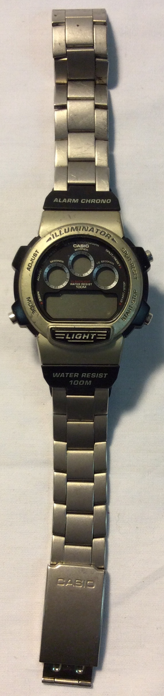 Casio Stainless steel back