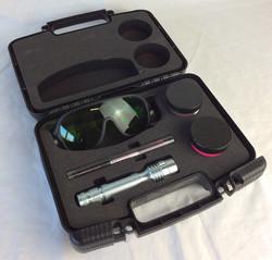 Fingerprint kit with UV Light