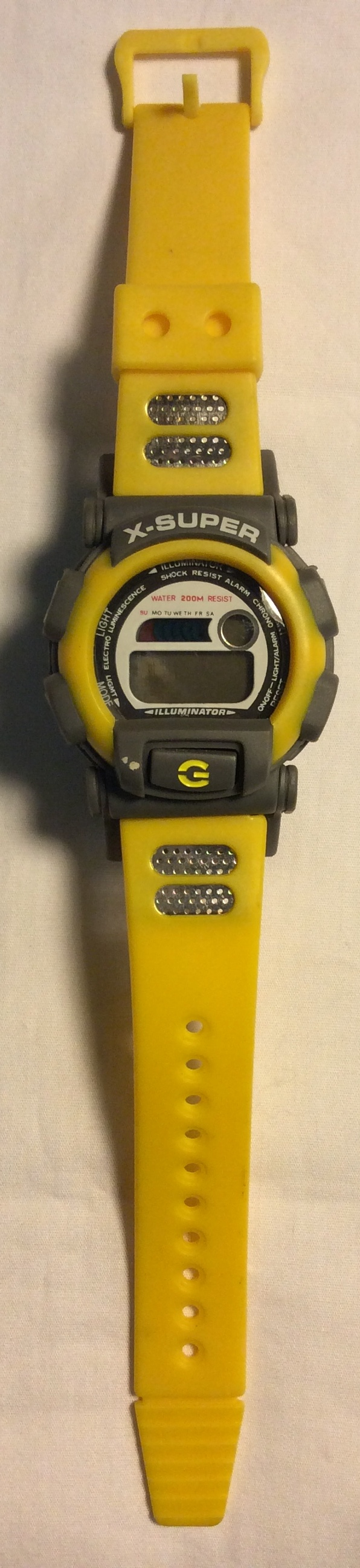 X-Super watch  - digital face