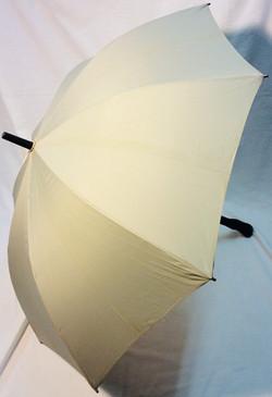 x2 navy x1 light grey umbrella with black fabric inside.