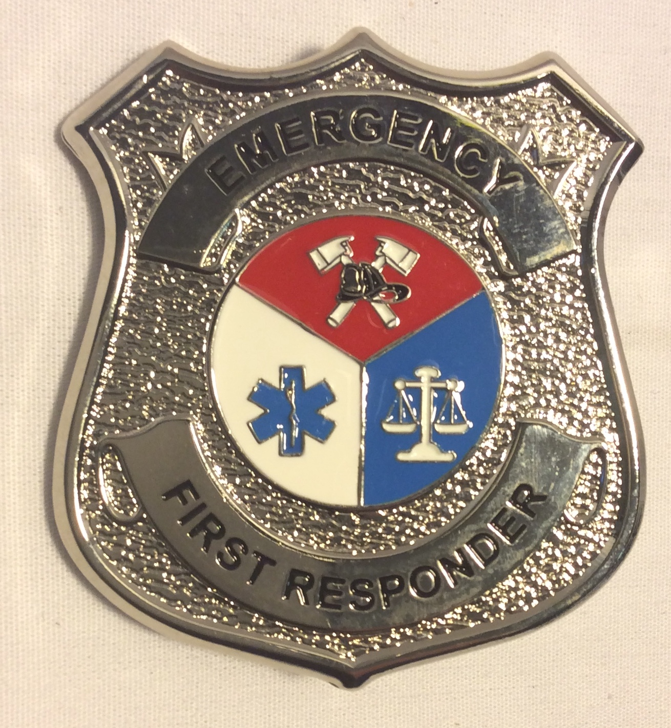 Emergency First Responder Badge