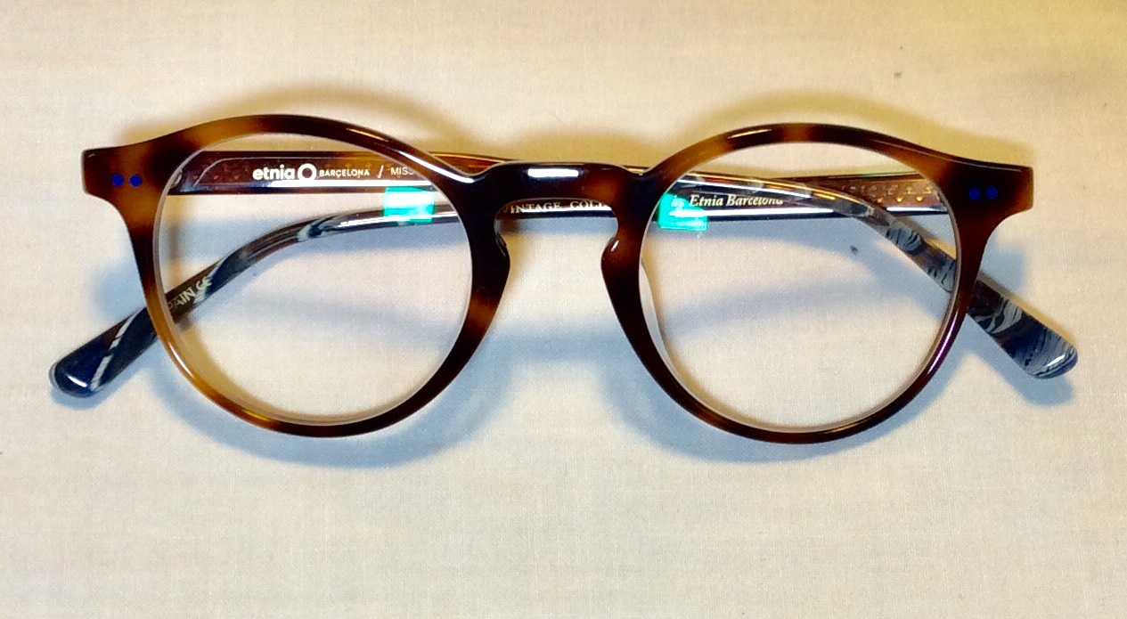 Tiger eye pattern ARL womens glasses
