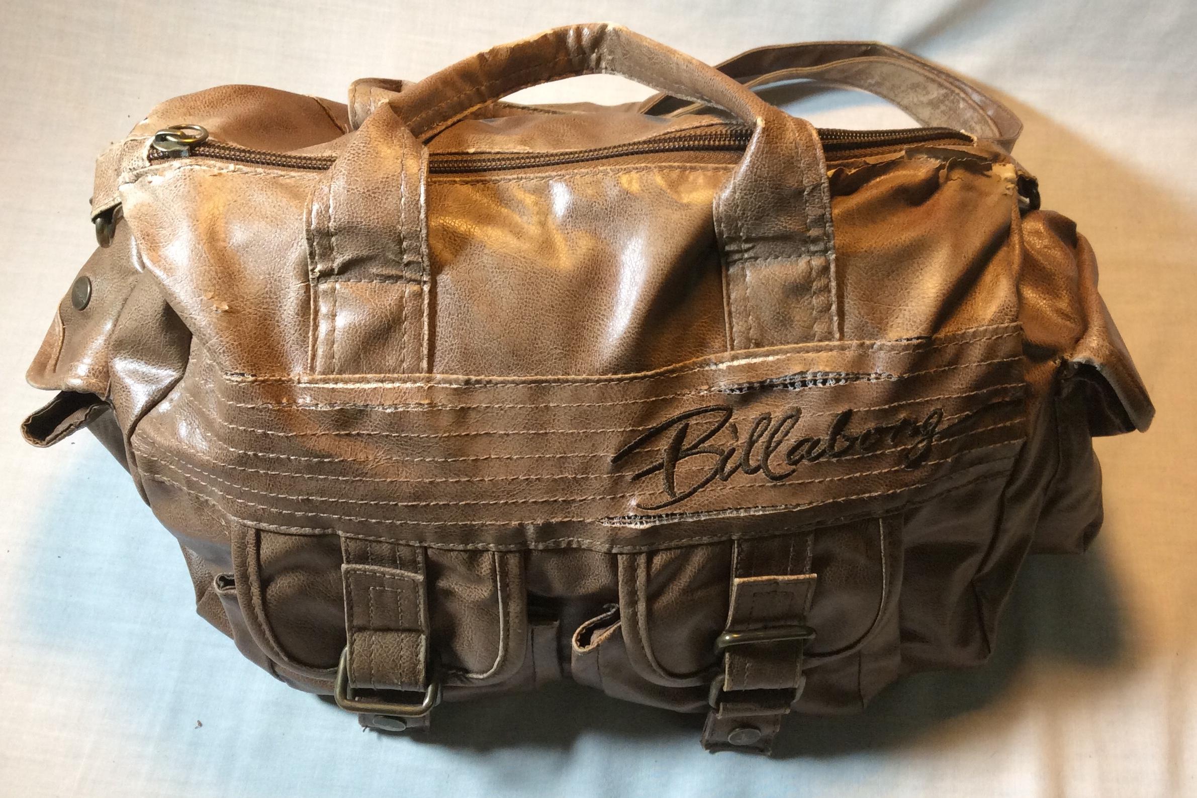 Older Leather Billabong Handbag