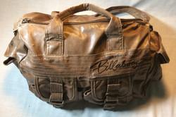 Faux Leather Aged Billabong Handbag
