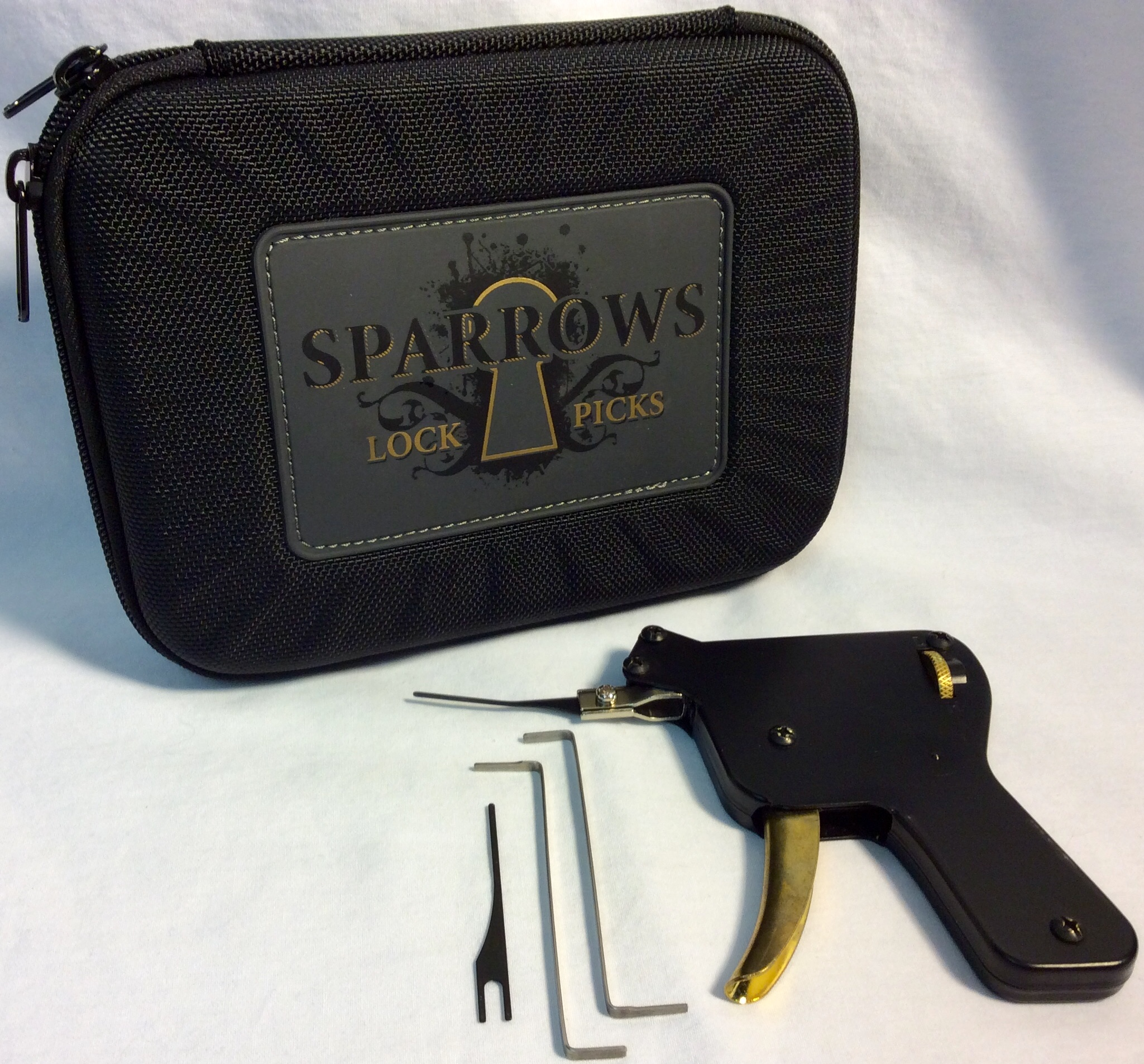 Southord Lock pick snap gun with accessories