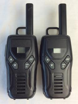 Greeked small portable radio's