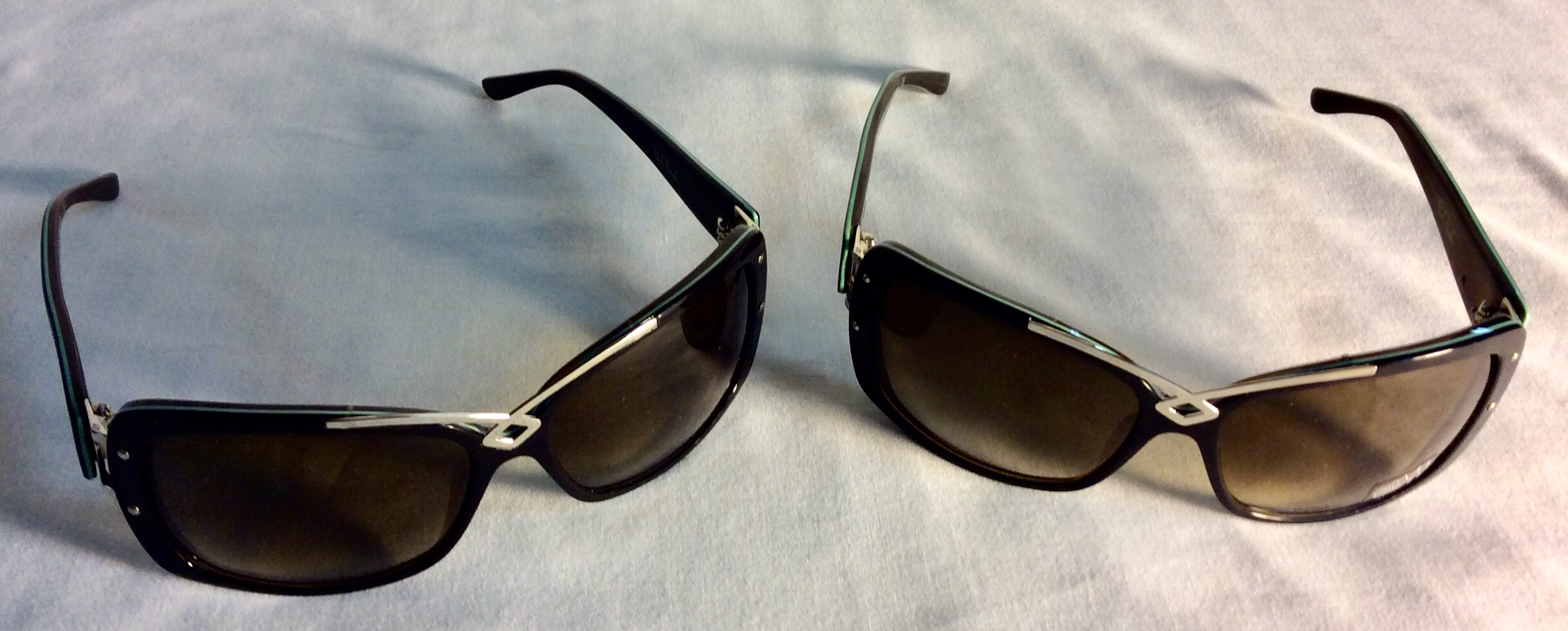 Black and silver sunglasses