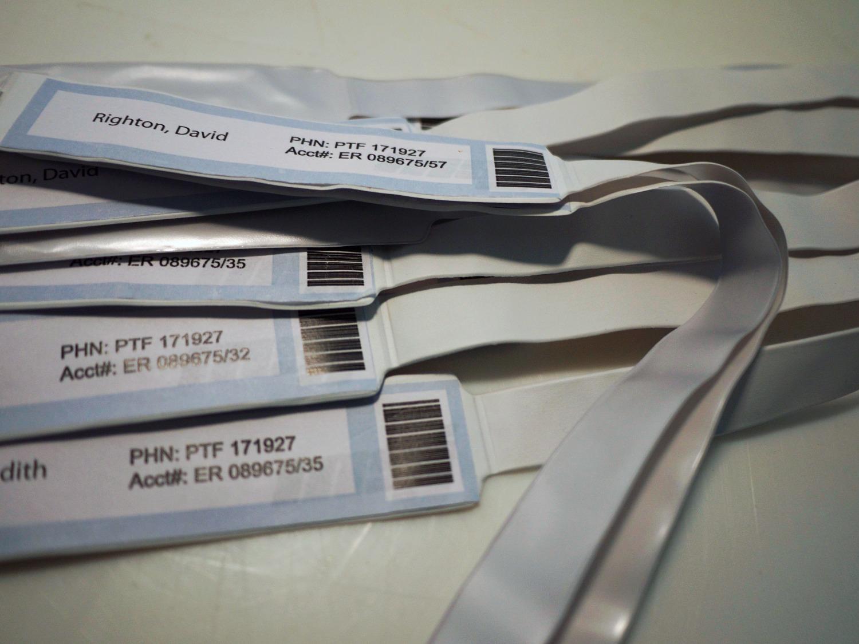 Hospital Bracelets