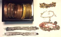 Assorted bracelets