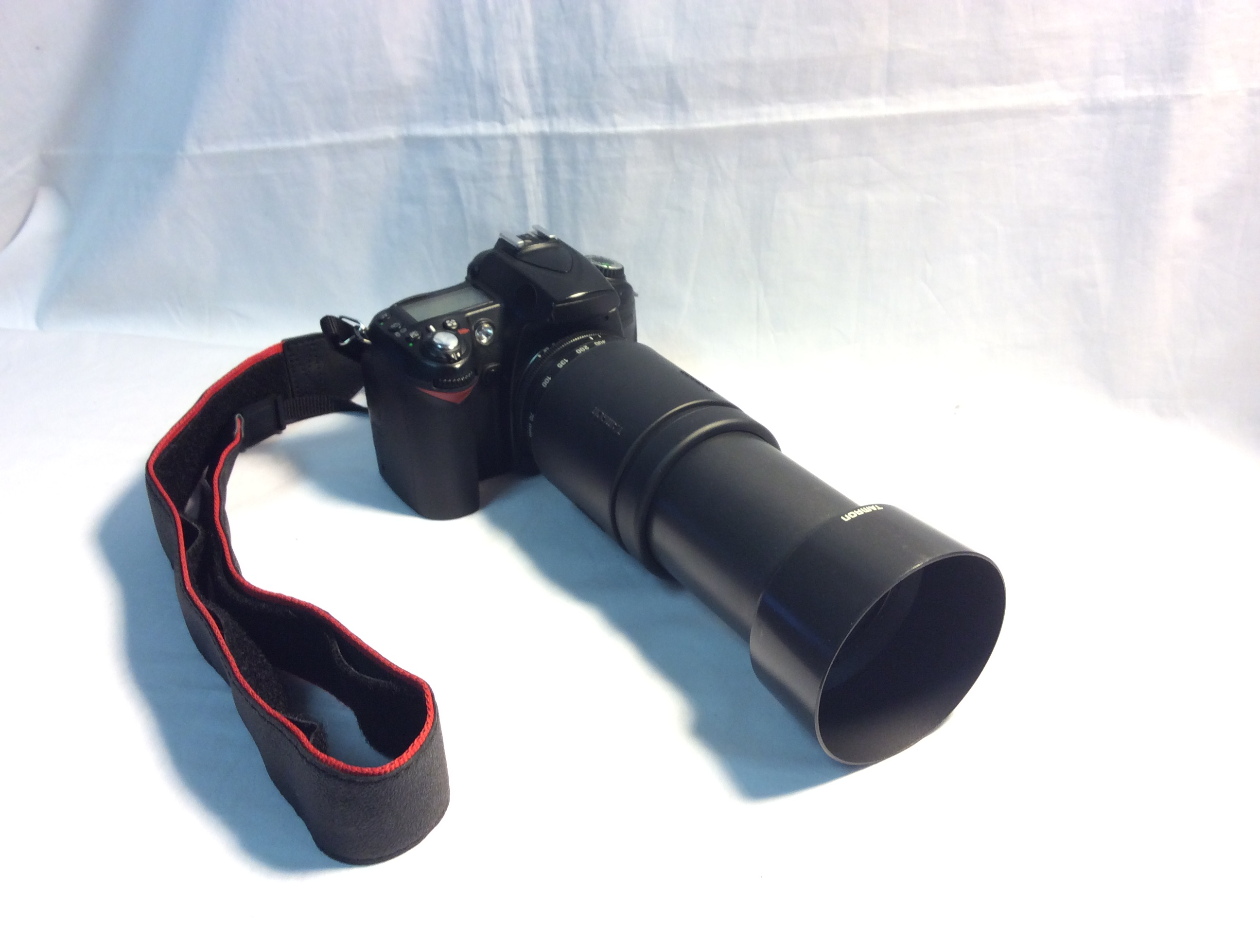 RCP CAM1: Nikon D90 with Tamron Zoom