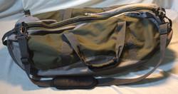 Green and Grey Duffle Bag