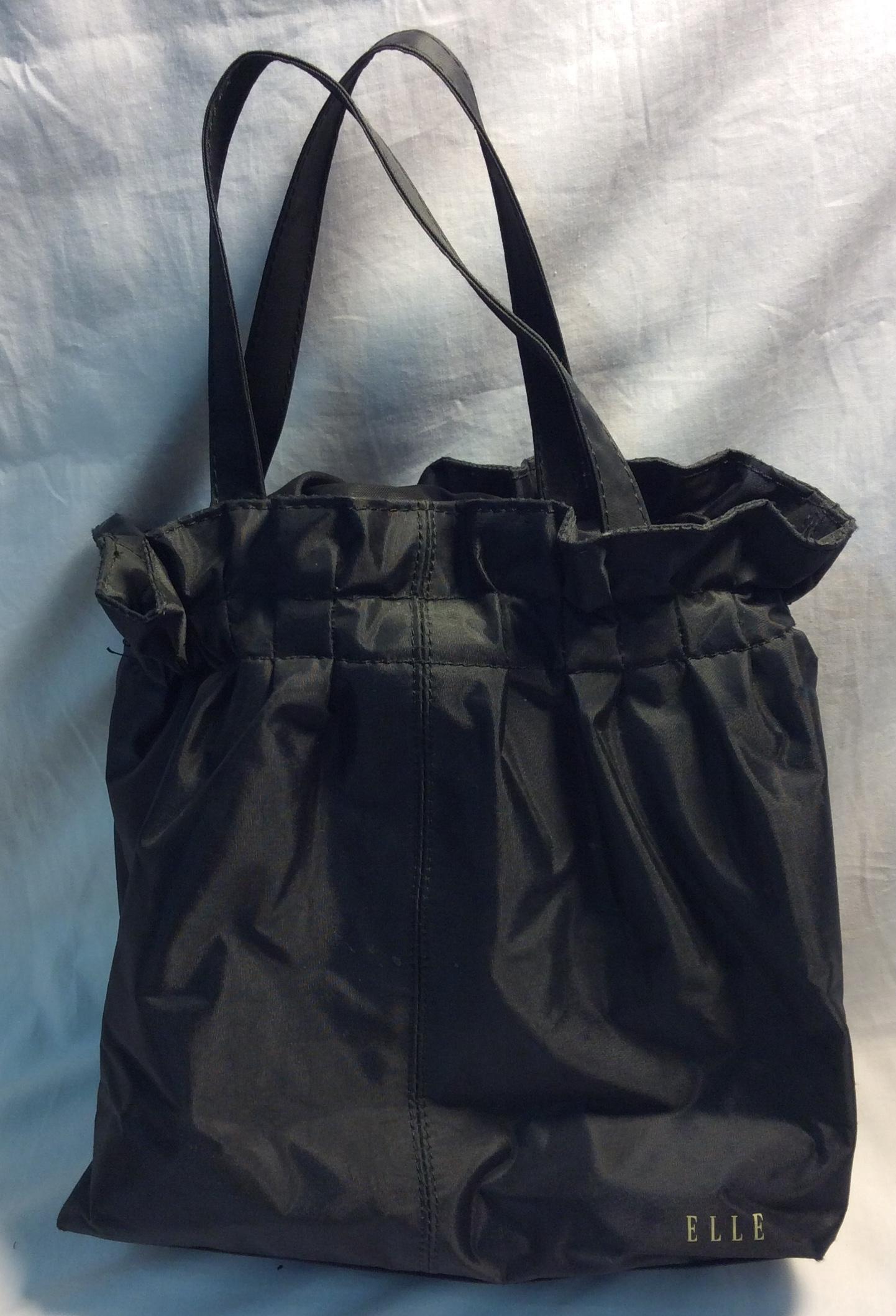 Black Elle thermal lunchbag