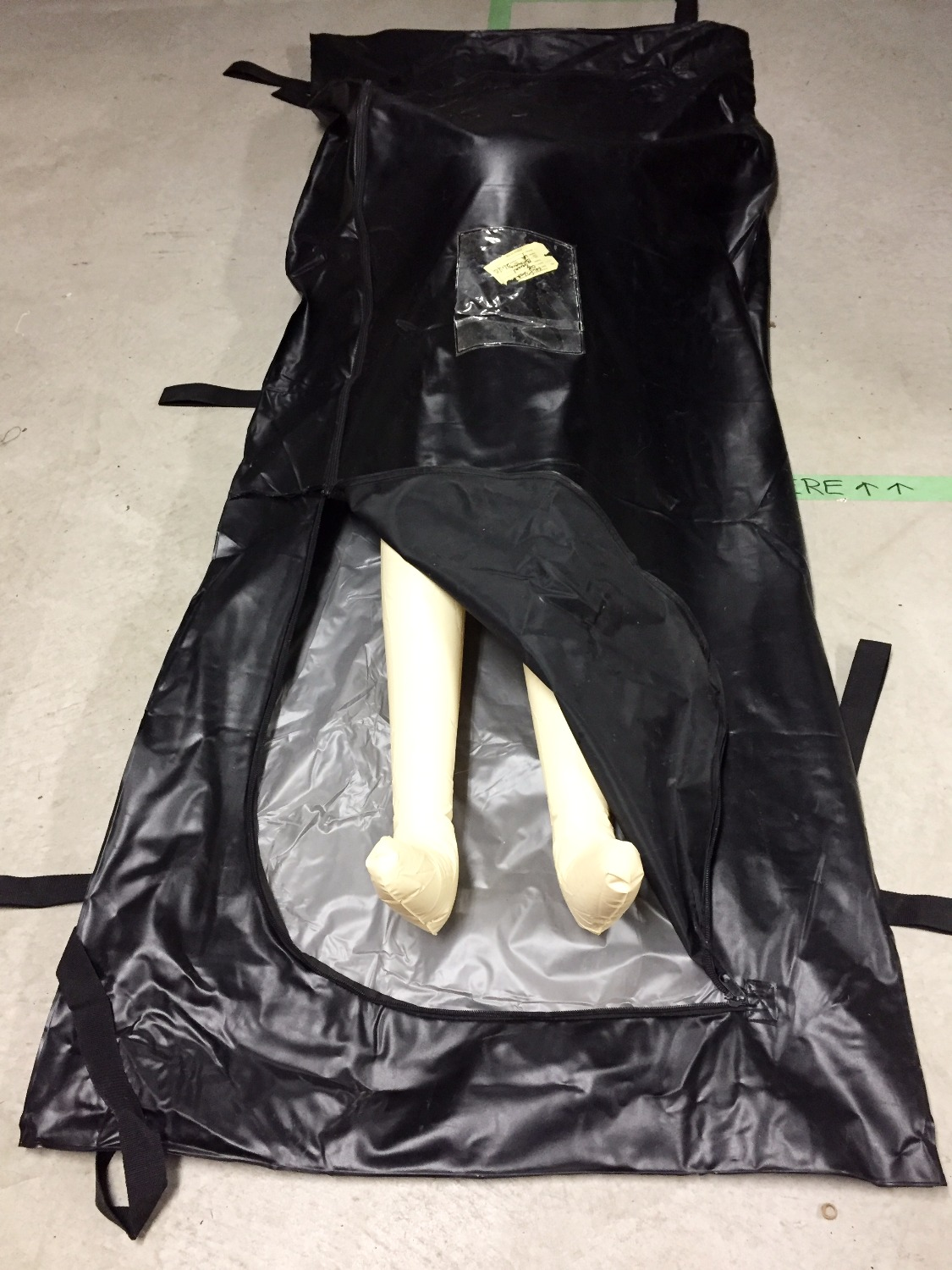 Black Heavy Duty Bodybags