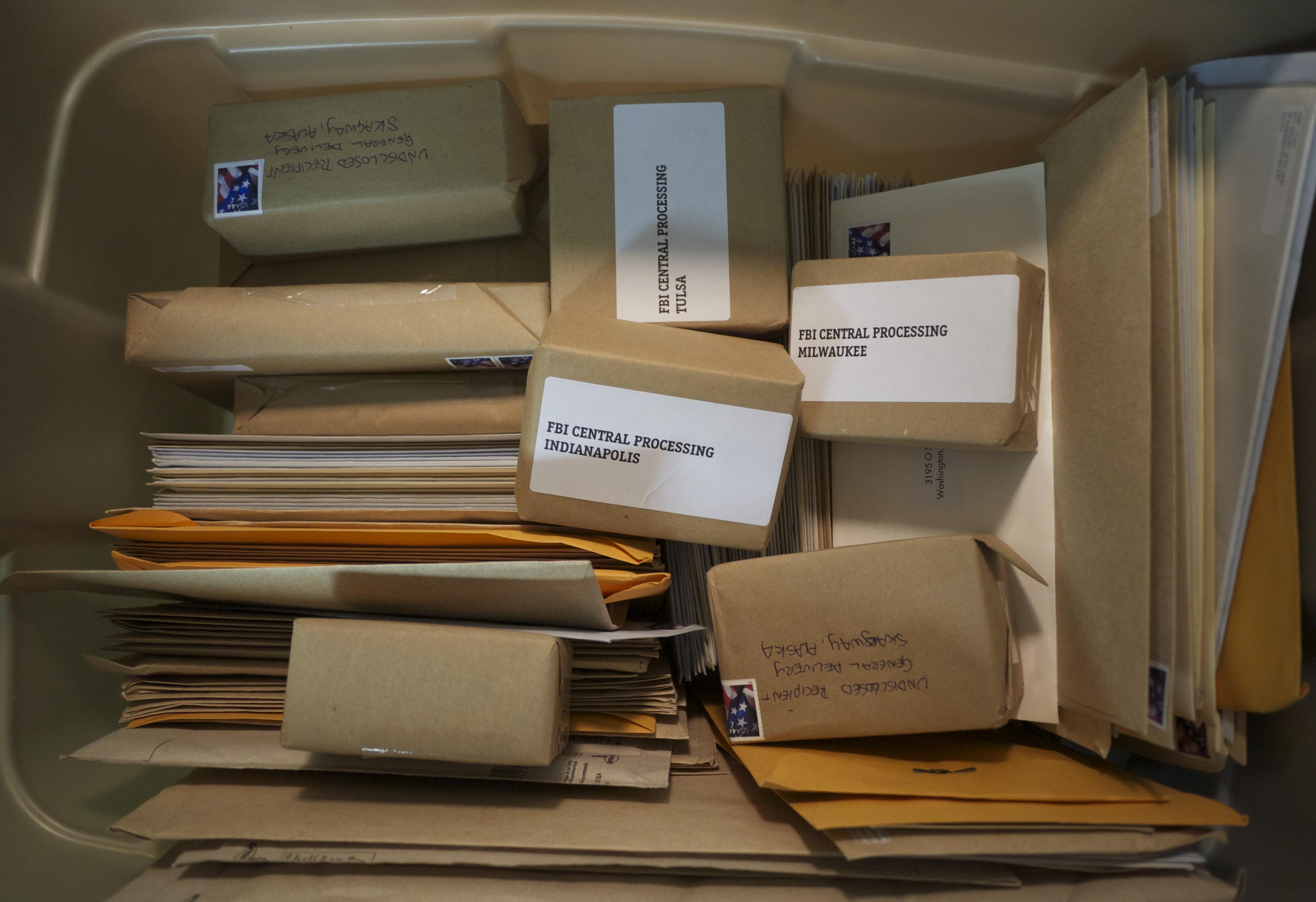 FBI mailroom