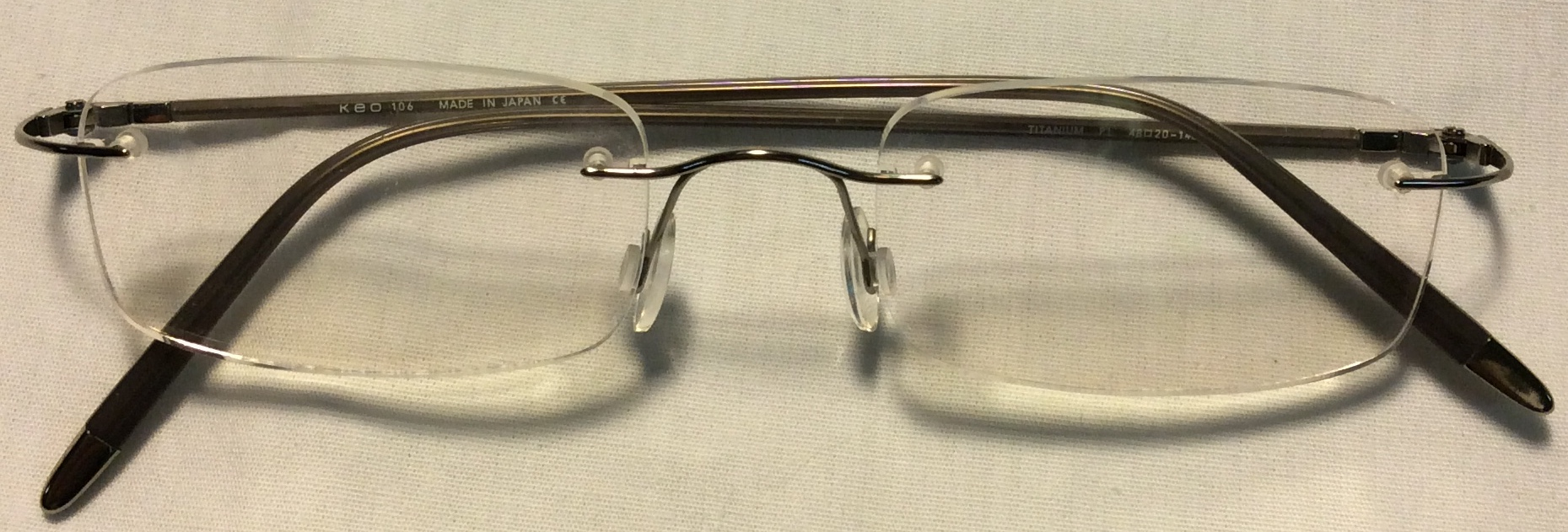 Titanium - Keo Thin grey frames