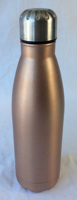 Rose-gold swell-style water bottle