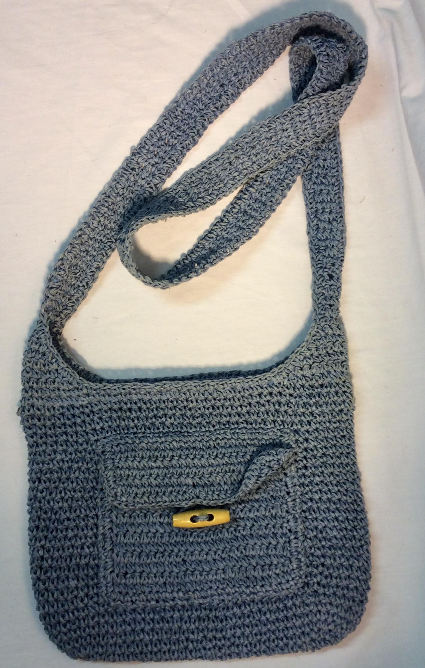 Laura Ashley Blue woven bag