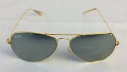 Gold frame aviator Ray Bans