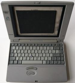 """Toshiba Satelite Pro (early 90s) - Takes 10"""" tablet"""