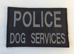 """Police Dog Services"" Velcro Patch"