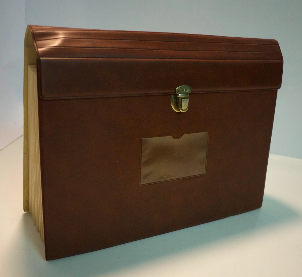Brown file folder