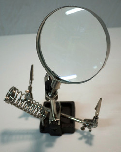 Mounted Magnifying Glass