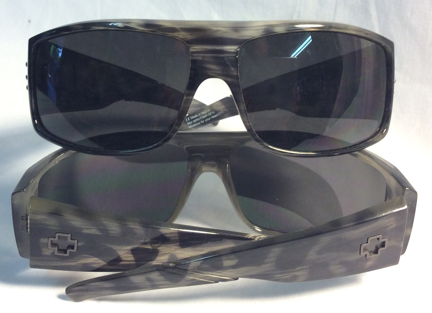 "Grey Leopardprint ""Clash"" sunglasses"