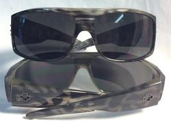 "Grey Leopardprint ""Clash"" sunglasses"