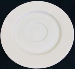 Breakaway plastic saucers (off white)